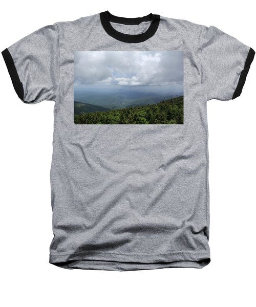 Distant Storm Baseball T-Shirt