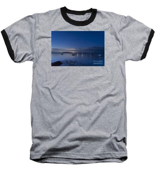 Distant Storm Baseball T-Shirt by Patrick Fennell