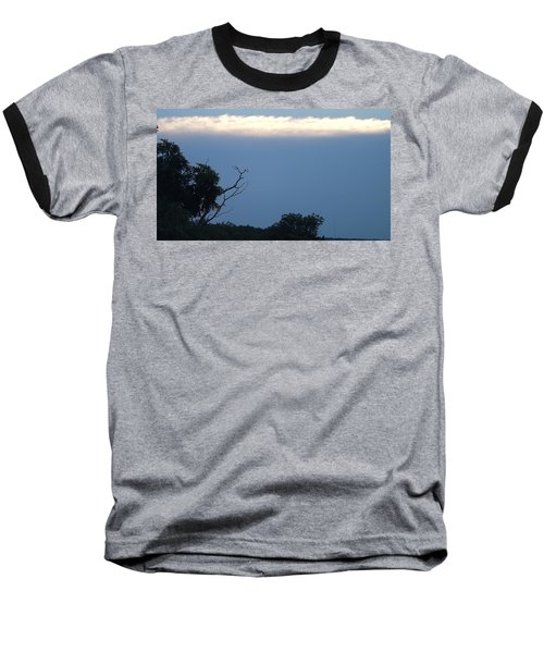 Distant White Clouds Baseball T-Shirt by Don Koester