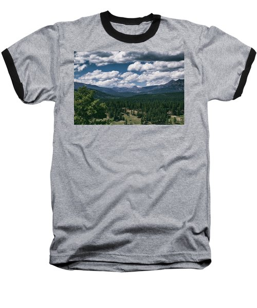 Distant Windows Baseball T-Shirt by Jason Coward