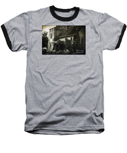 Baseball T-Shirt featuring the photograph Distressed by Judy Wolinsky