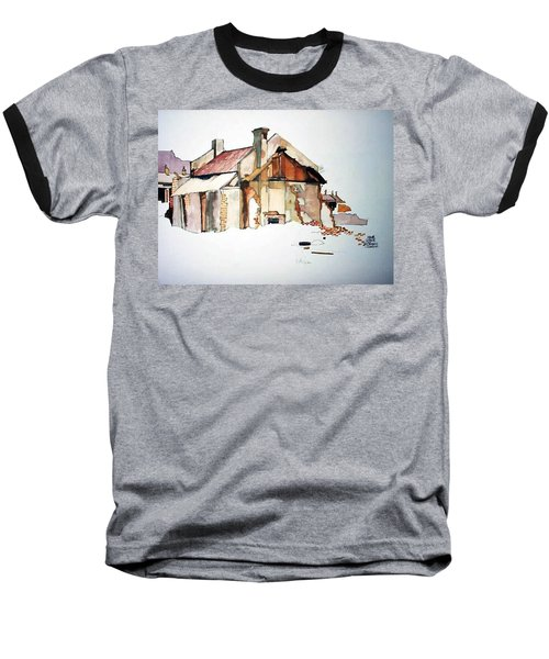 District 6 No 2 Baseball T-Shirt by Tim Johnson