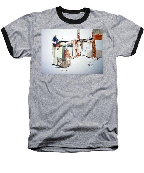 District 6 No 3 Baseball T-Shirt by Tim Johnson