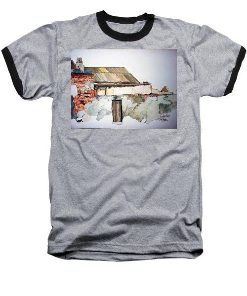 District 6 No 4 Baseball T-Shirt by Tim Johnson