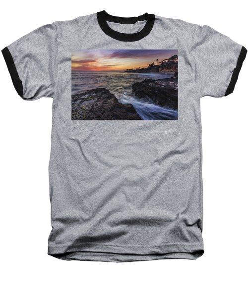 Diver's Cove Sunset Baseball T-Shirt