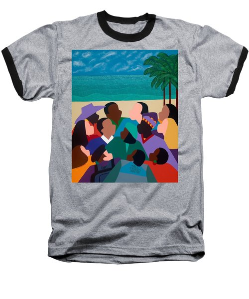Diversity In Cannes Baseball T-Shirt