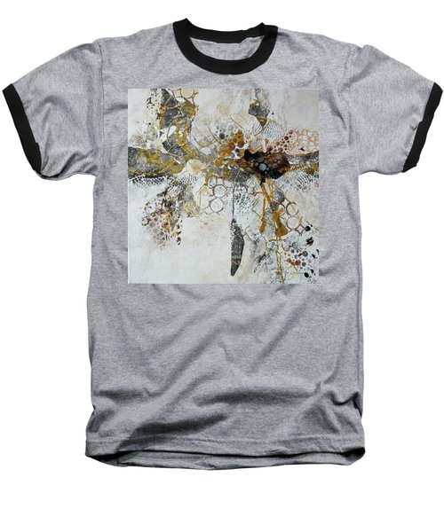 Baseball T-Shirt featuring the painting Diversity by Joanne Smoley