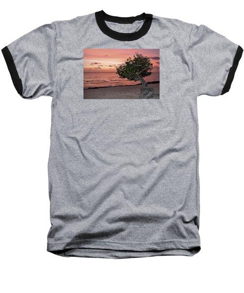 Divi Divi Aruba Baseball T-Shirt by DJ Florek