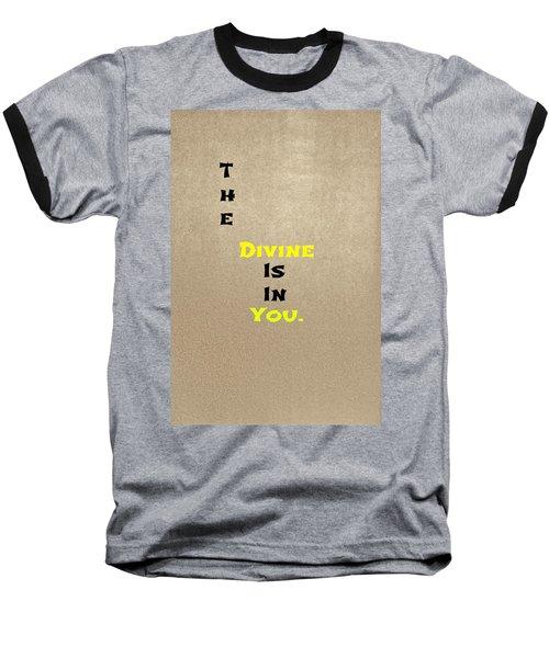 Divine #3 Baseball T-Shirt