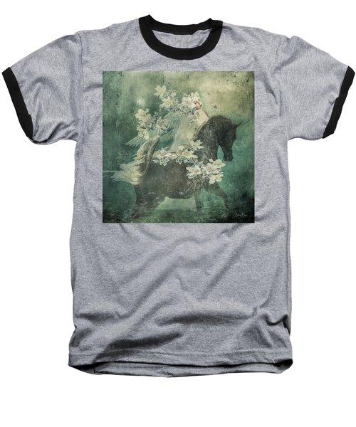 Divine Horse Whisperer Baseball T-Shirt