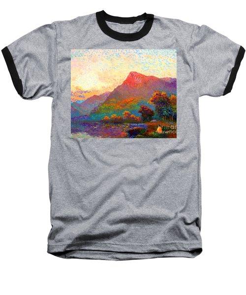 Buddha Meditation, Divine Light Baseball T-Shirt