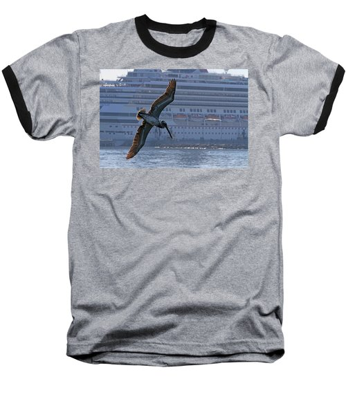 Diving For Breakfast Baseball T-Shirt