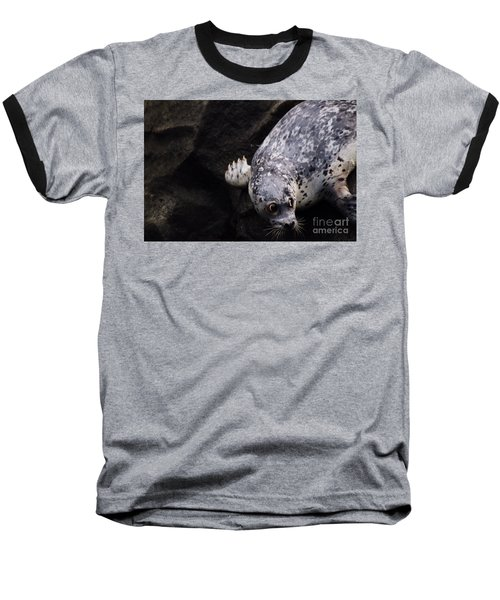 Baseball T-Shirt featuring the photograph Diving In Head First by Nick Gustafson