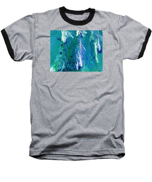 Diving To The Depths Baseball T-Shirt