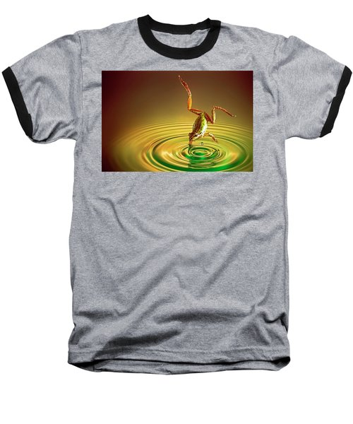 Baseball T-Shirt featuring the photograph Diving by William Lee