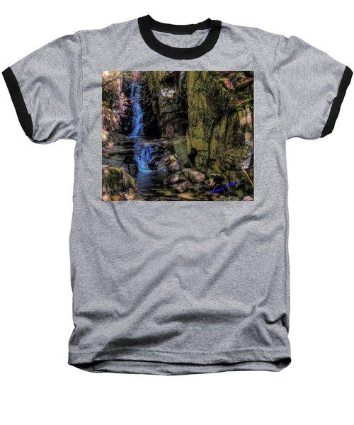 Dixville Notch Flume Brook Baseball T-Shirt