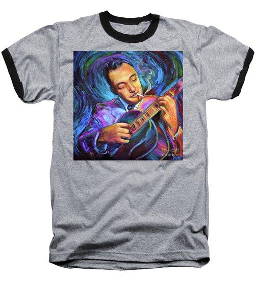 Django Reinhardt  Baseball T-Shirt by Robert Phelps