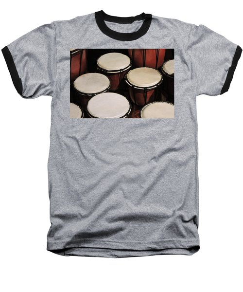 Djembe Baseball T-Shirt