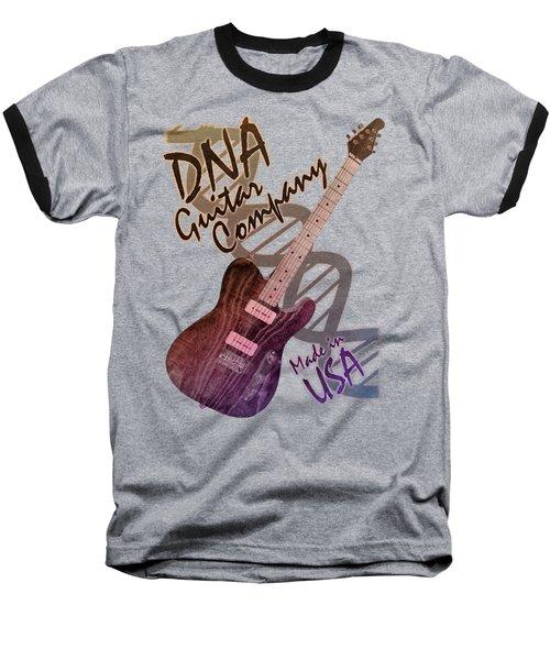 Dna Guitar Company T Shirt 2 Baseball T-Shirt by WB Johnston