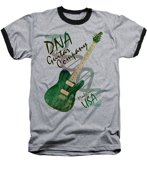 Dna Guitar Shirt 3 Baseball T-Shirt