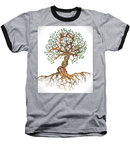 Dna Tree Of Life Baseball T-Shirt