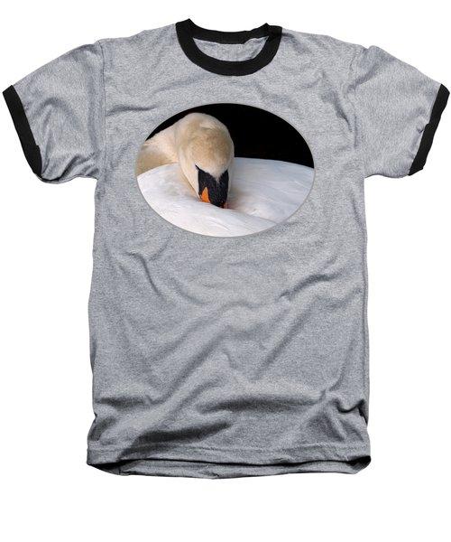 Do Not Disturb Baseball T-Shirt by Gill Billington