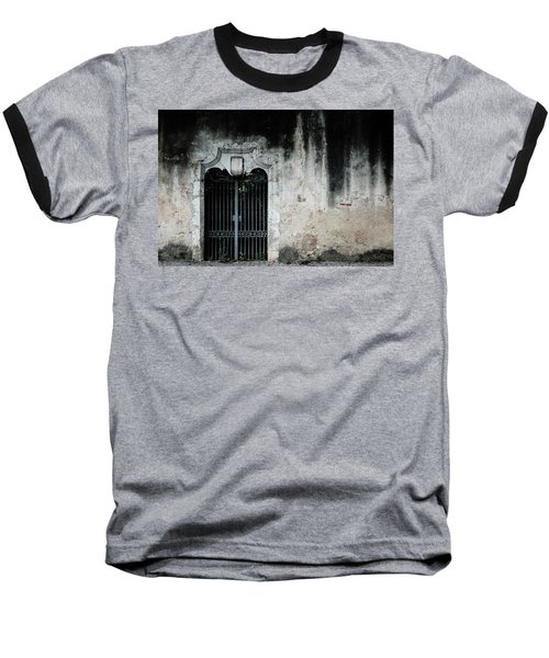 Baseball T-Shirt featuring the photograph Do Not Enter by Marco Oliveira