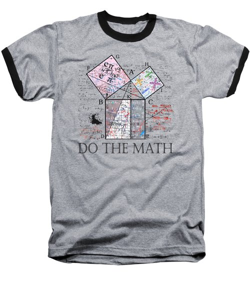 Do The Math Baseball T-Shirt