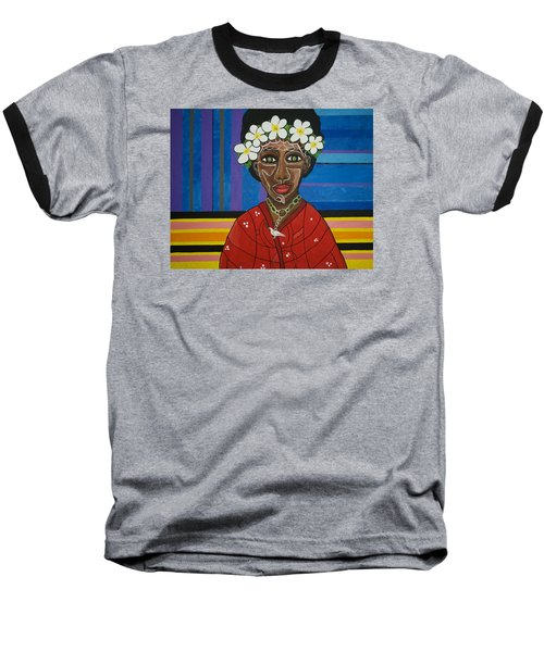 Do The Right Thing Baseball T-Shirt by Jose Rojas