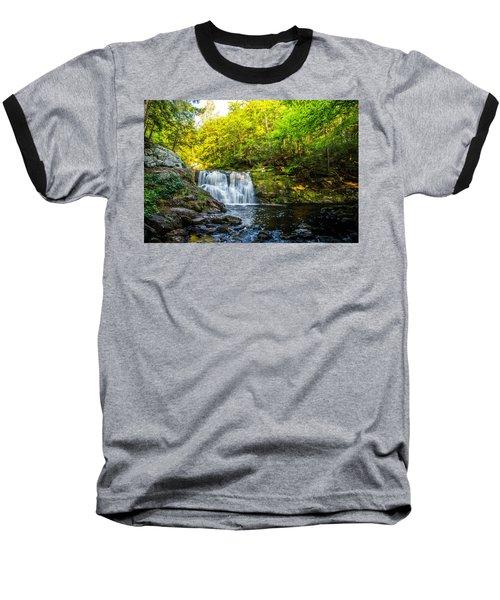 Doans Falls Lower Falls Baseball T-Shirt
