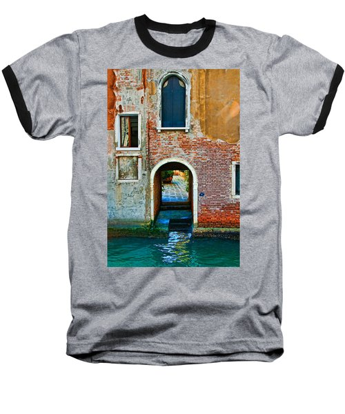 Dock And Windows Baseball T-Shirt