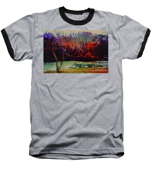 Baseball T-Shirt featuring the photograph Dock At Central Park by Sandy Moulder