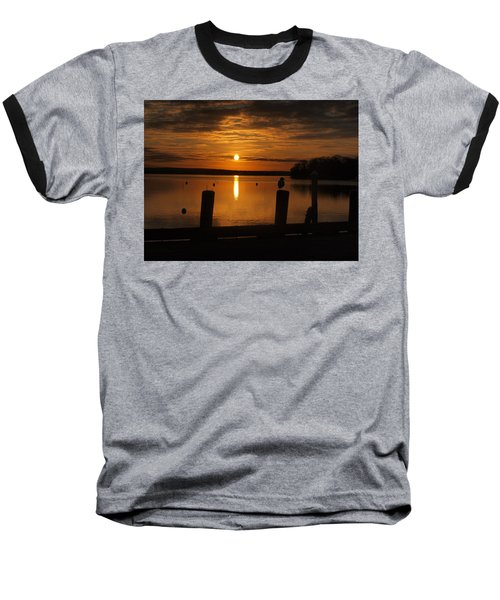 Dock Of The Bay Baseball T-Shirt