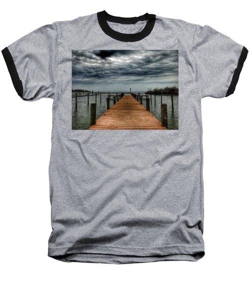Dock Of The Bay Baseball T-Shirt