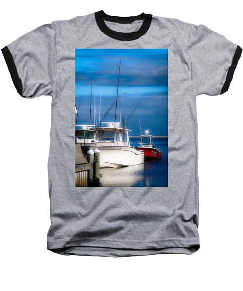 Docked And Quiet Baseball T-Shirt