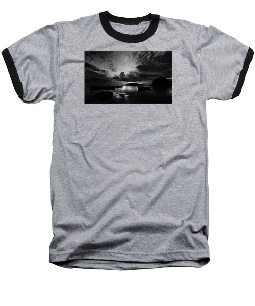 Docked At Dusk Baseball T-Shirt