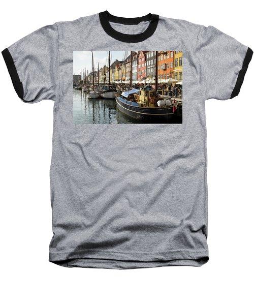 Dockside At Nyhavn Baseball T-Shirt