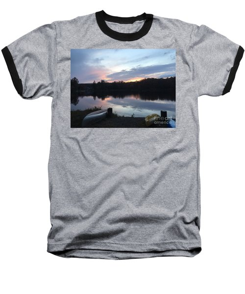 Dockside Pastels Baseball T-Shirt by Jason Nicholas