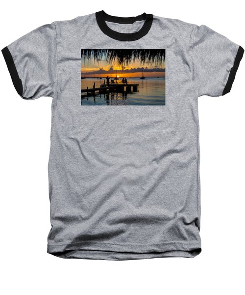 Docktime Baseball T-Shirt by Kevin Cable