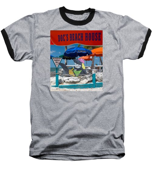 Doc's Beach House On Bonita Beach Baseball T-Shirt