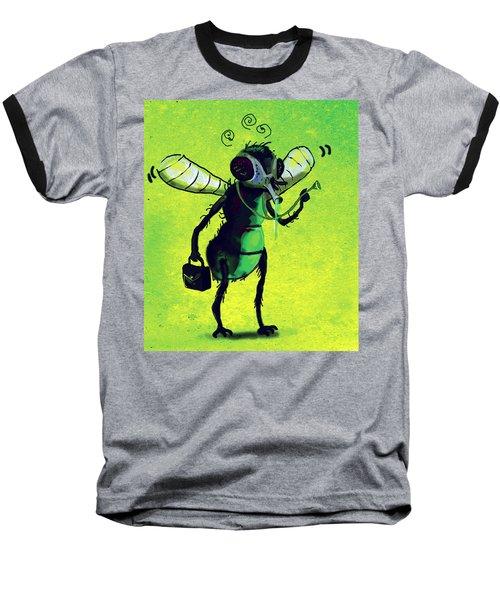 Doctor Fly Baseball T-Shirt