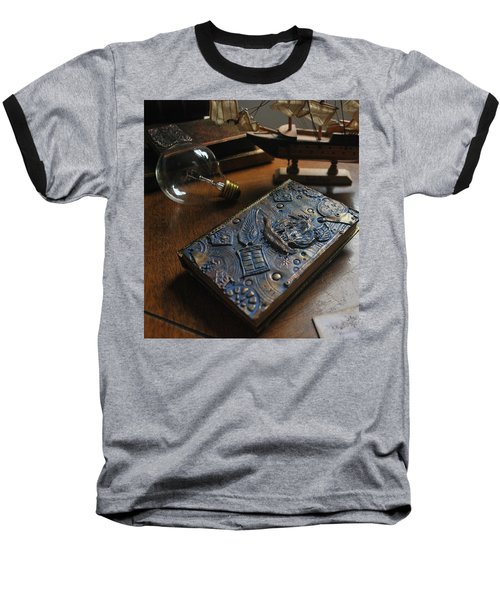 Doctor Who Steampunk Journal  Baseball T-Shirt