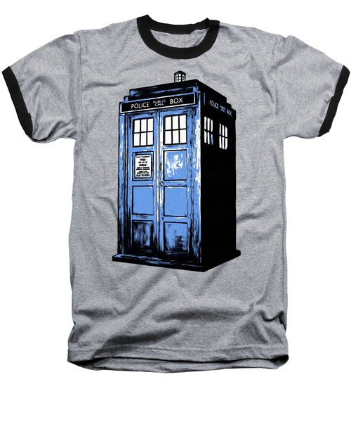 Doctor Who Tardis Baseball T-Shirt