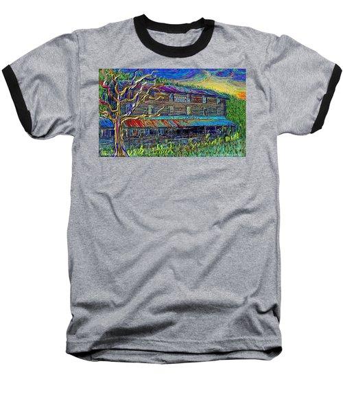 Dodds Creek Mill, ,floyd Virginia Baseball T-Shirt