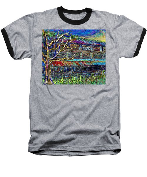 Dodds Creek Mill, ,floyd Virginia Baseball T-Shirt