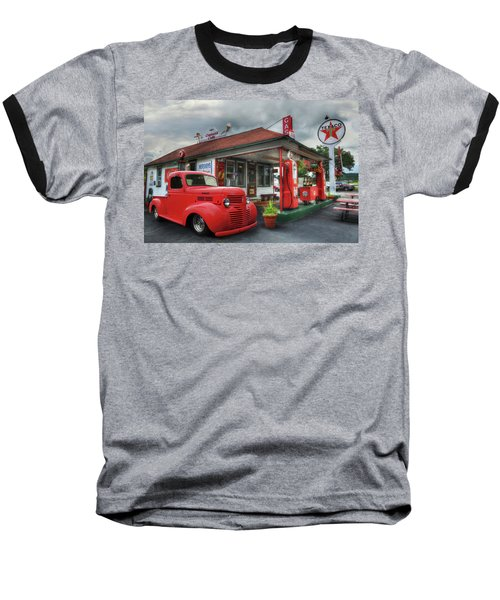 Baseball T-Shirt featuring the photograph Dodge At Cruisers by Lori Deiter