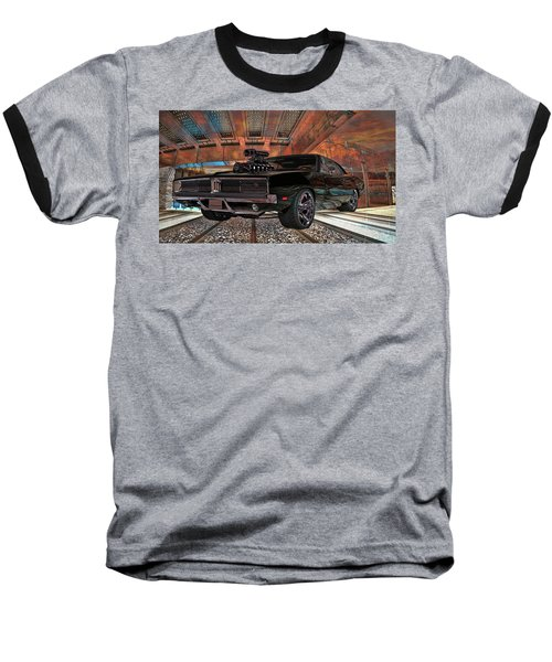 Dodge Charger R/t 1969 Hemi Baseball T-Shirt by Louis Ferreira