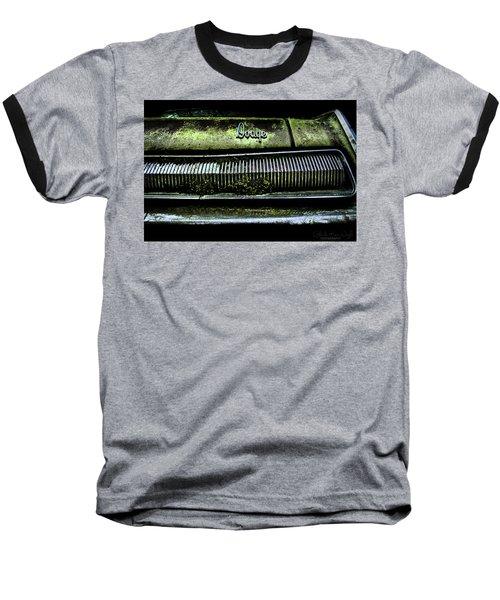 Dodge Green Grin Baseball T-Shirt