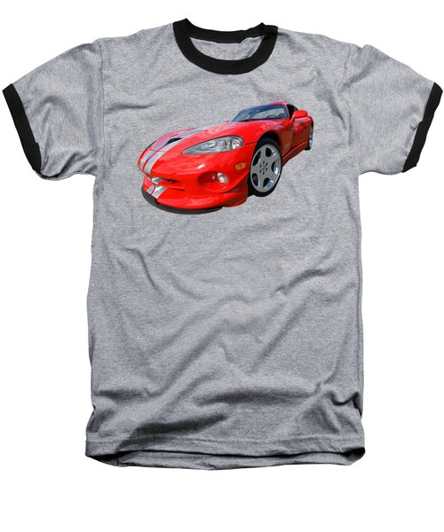 Dodge Viper Gts Baseball T-Shirt
