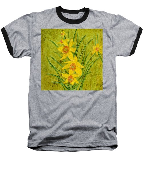 Daffodils Too Baseball T-Shirt